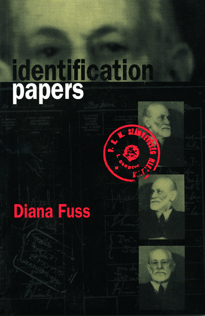Identification Papers: Readings on Psychoanalysis, Sexuality, and Culture, 1st Edition (Paperback) book cover