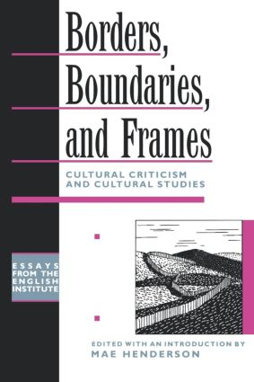Borders, Boundaries, and Frames book cover