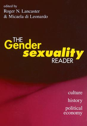 The Gender/Sexuality Reader: Culture, History, Political Economy, 1st Edition (Paperback) book cover