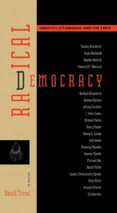 Radical Democracy: Identity, Citizenship and the State, 1st Edition (Paperback) book cover