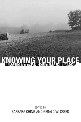 Knowing Your Place: Rural Identity and Cultural Hierarchy, 1st Edition (Paperback) book cover