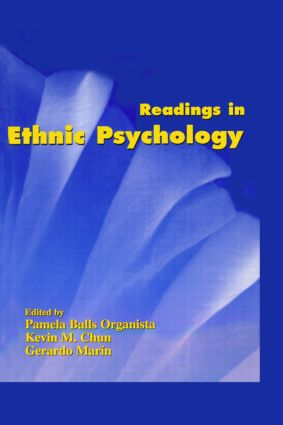 Readings in Ethnic Psychology: 1st Edition (Hardback) book cover