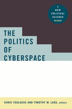 The Politics of Cyberspace: 1st Edition (Paperback) book cover