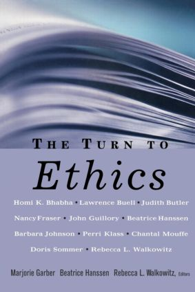 The Turn to Ethics book cover