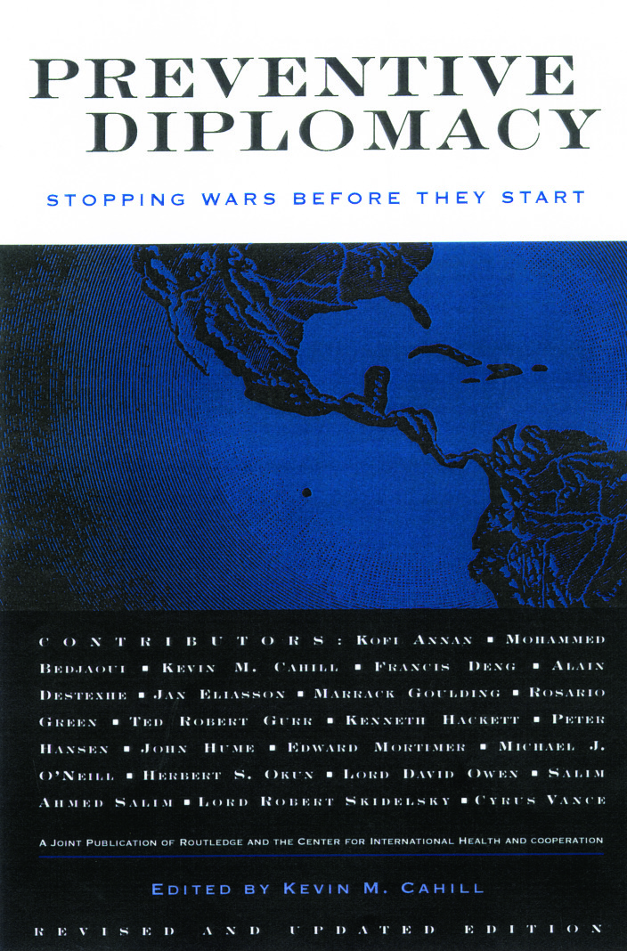 Preventive Diplomacy: Stopping Wars Before They Start, 2nd Edition (Paperback) book cover