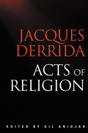 Acts of Religion: 1st Edition (Paperback) book cover
