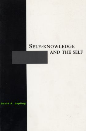 Self-Knowledge and the Self (Paperback) book cover
