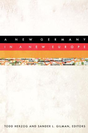 A New Germany in a New Europe: 1st Edition (Paperback) book cover
