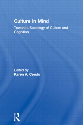 Establishing a Sociology of Culture and Cognition