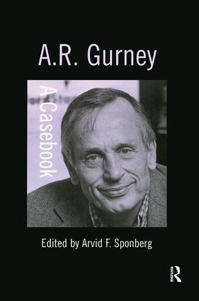 A.R. Gurney: 1st Edition (Hardback) book cover