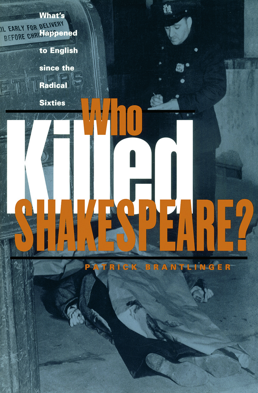 Who Killed Shakespeare