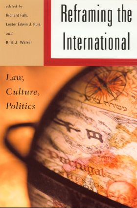 Reframing the International: Law, Culture, Politics (Paperback) book cover