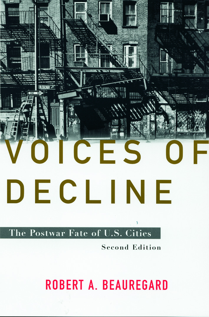 Voices of Decline: The Postwar Fate of US Cities, 2nd Edition (Paperback) book cover