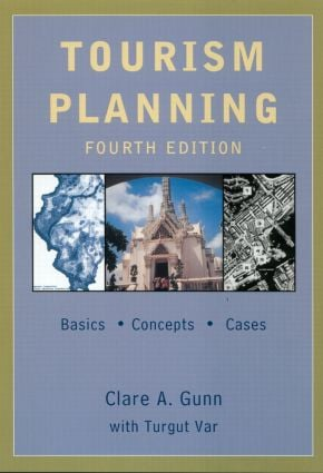 Tourism Planning: Basics, Concepts, Cases, 4th Edition (Paperback) book cover