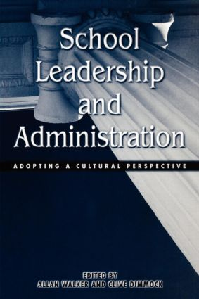 School Leadership and Administration: The Cultural Context (Paperback) book cover