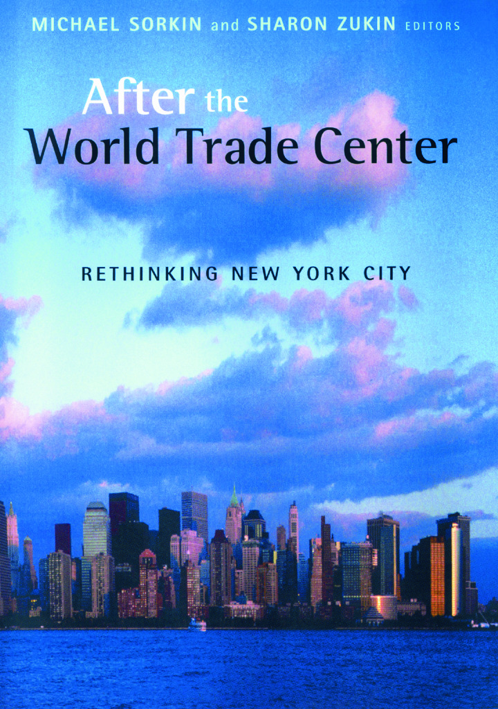 After the World Trade Center: Rethinking New York City (Hardback) book cover