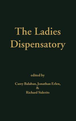 Ladies' Dispensatory: 1st Edition (Hardback) book cover