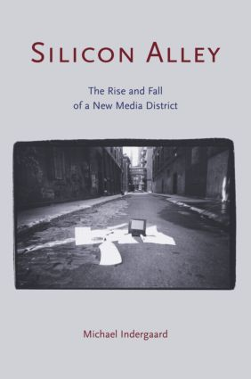 Silicon Alley: The Rise and Fall of a New Media District (Paperback) book cover