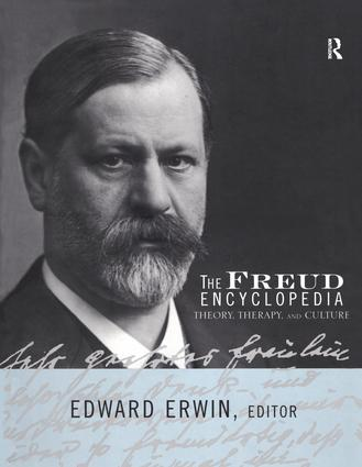 The Freud Encyclopedia: Theory, Therapy, and Culture (Hardback) book cover