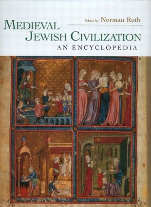 Medieval Jewish Civilization: An Encyclopedia (Hardback) book cover