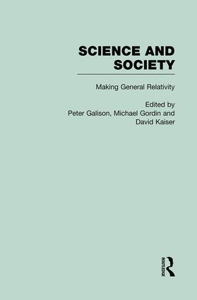 The Roots of General Relativity: Science and Society, 1st Edition (Hardback) book cover