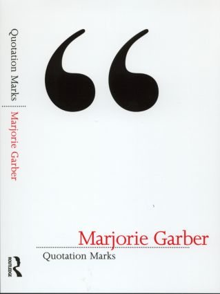 Quotation Marks: 1st Edition (Paperback) book cover