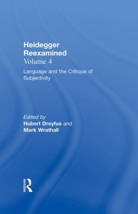 Heidegger and Contemporary Philosophy: Heidegger Reexamined, 1st Edition (Hardback) book cover