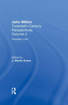 Paradise Lost: John Milton: Twentieth Century Perspectives (Hardback) book cover