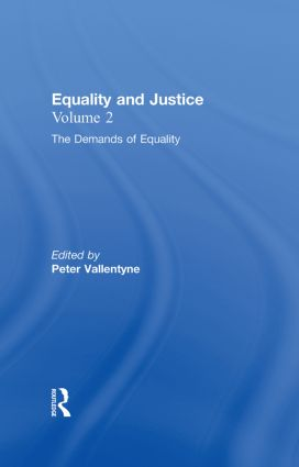 Equality: Equality and Justice, 1st Edition (Hardback) book cover