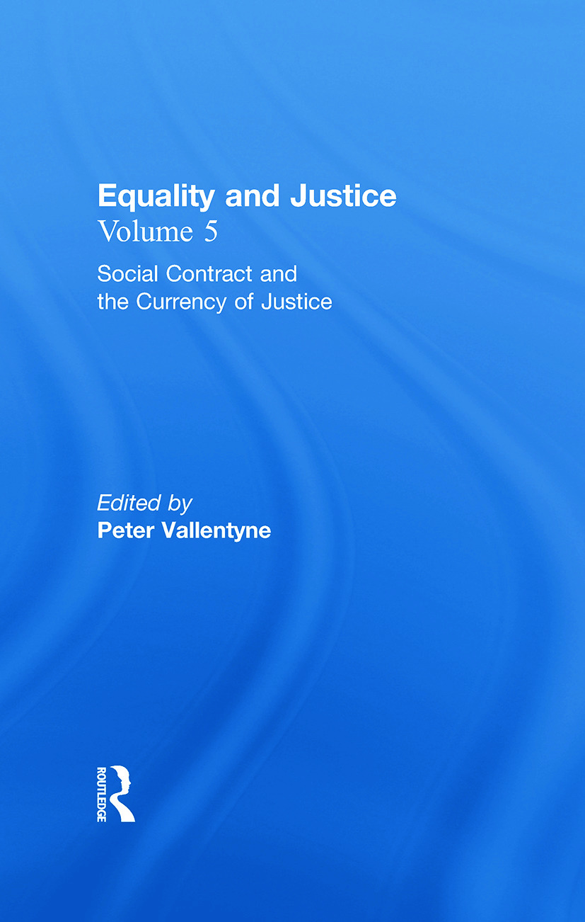 Social Contract and the Currency of Justice: Equality and Justice book cover