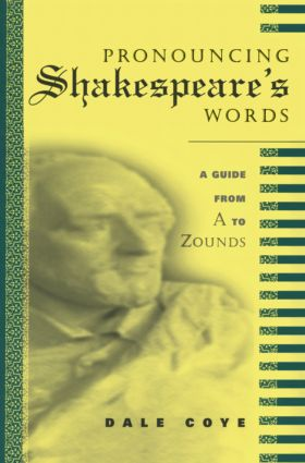 Pronouncing Shakespeare's Words: 1st Edition (Paperback) book cover