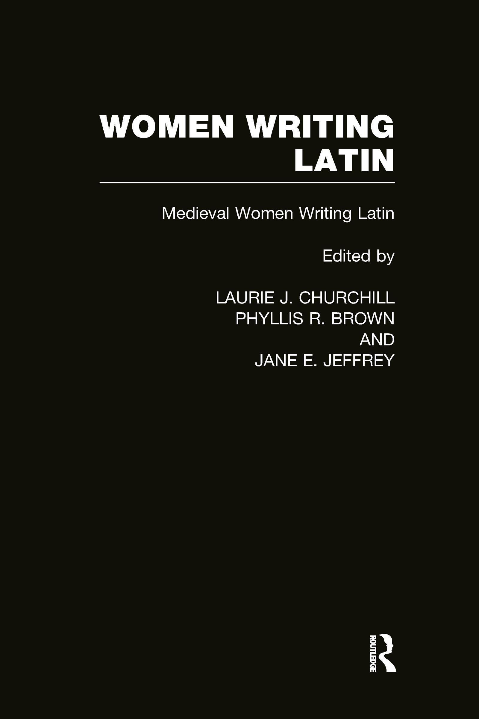 Women Writing Latin: Medieval Modern Women Writing Latin (Hardback) book cover