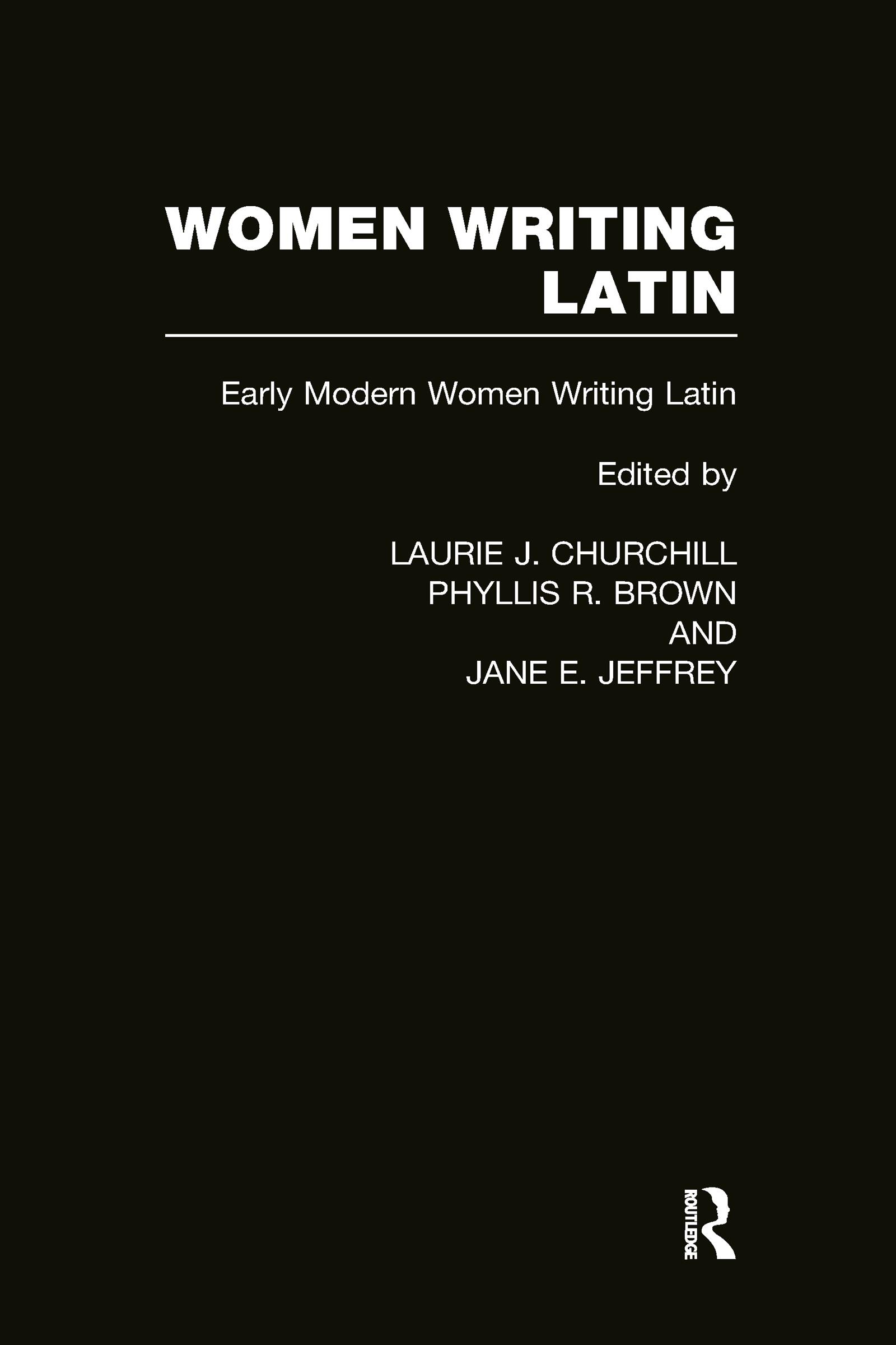 Women Writing Latin: Early Modern Women Writing Latin (Hardback) book cover