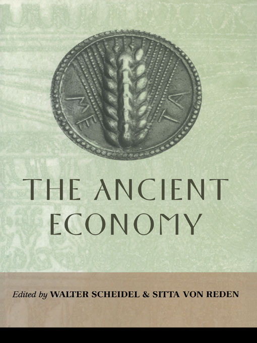 The Ancient Economy: 1st Edition (Paperback) book cover