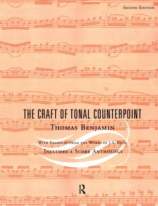 The Craft of Tonal Counterpoint (Paperback) book cover