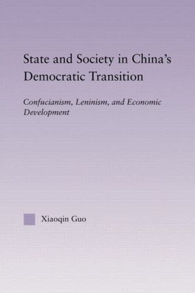 State and Society in China's Democratic Transition