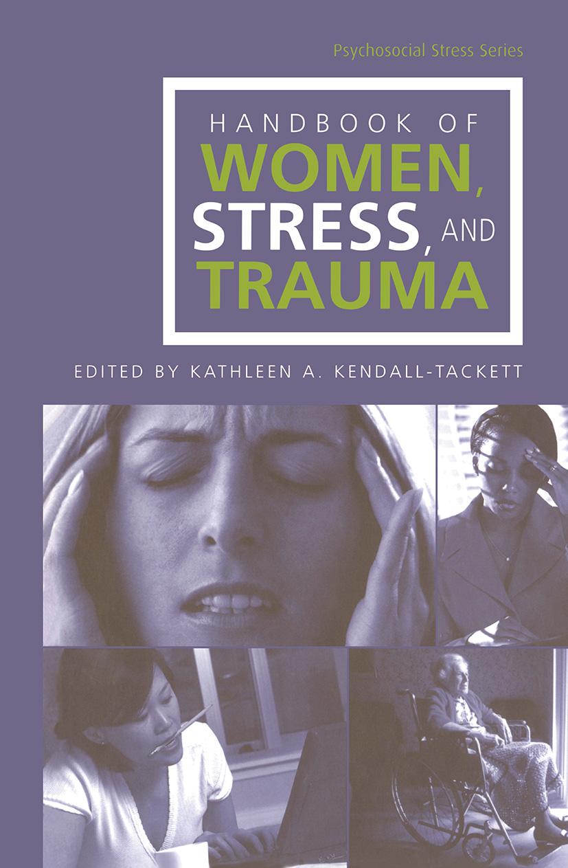 Handbook of Women, Stress and Trauma (Hardback) book cover