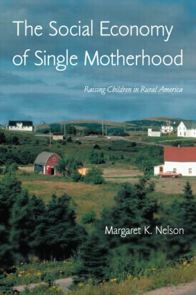 The Social Economy of Single Motherhood: Raising Children in Rural America (Paperback) book cover