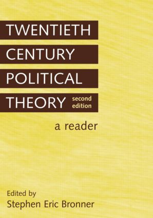 Twentieth Century Political Theory: A Reader, 2nd Edition (Paperback) book cover