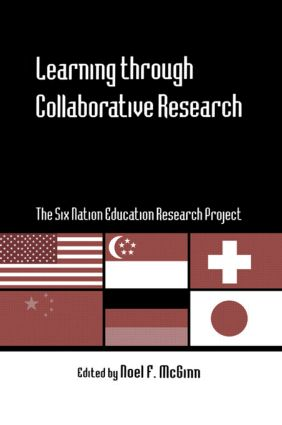 Learning through Collaborative Research: The Six Nation Education Research Project (Hardback) book cover