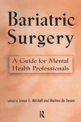 Bariatric Surgery: A Guide for Mental Health Professionals (Hardback) book cover