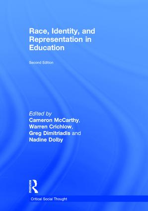 Race, Identity, and Representation in Education book cover