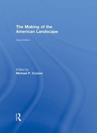 The Making of the American Landscape book cover