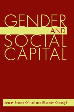 Gender and Social Capital book cover