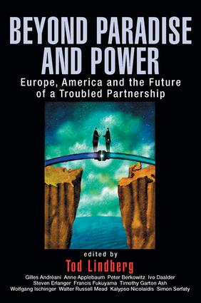 Beyond Paradise and Power: Europe, America, and the Future of a Troubled Partnership (Paperback) book cover