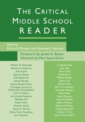 The Critical Middle School Reader: 1st Edition (Paperback) book cover