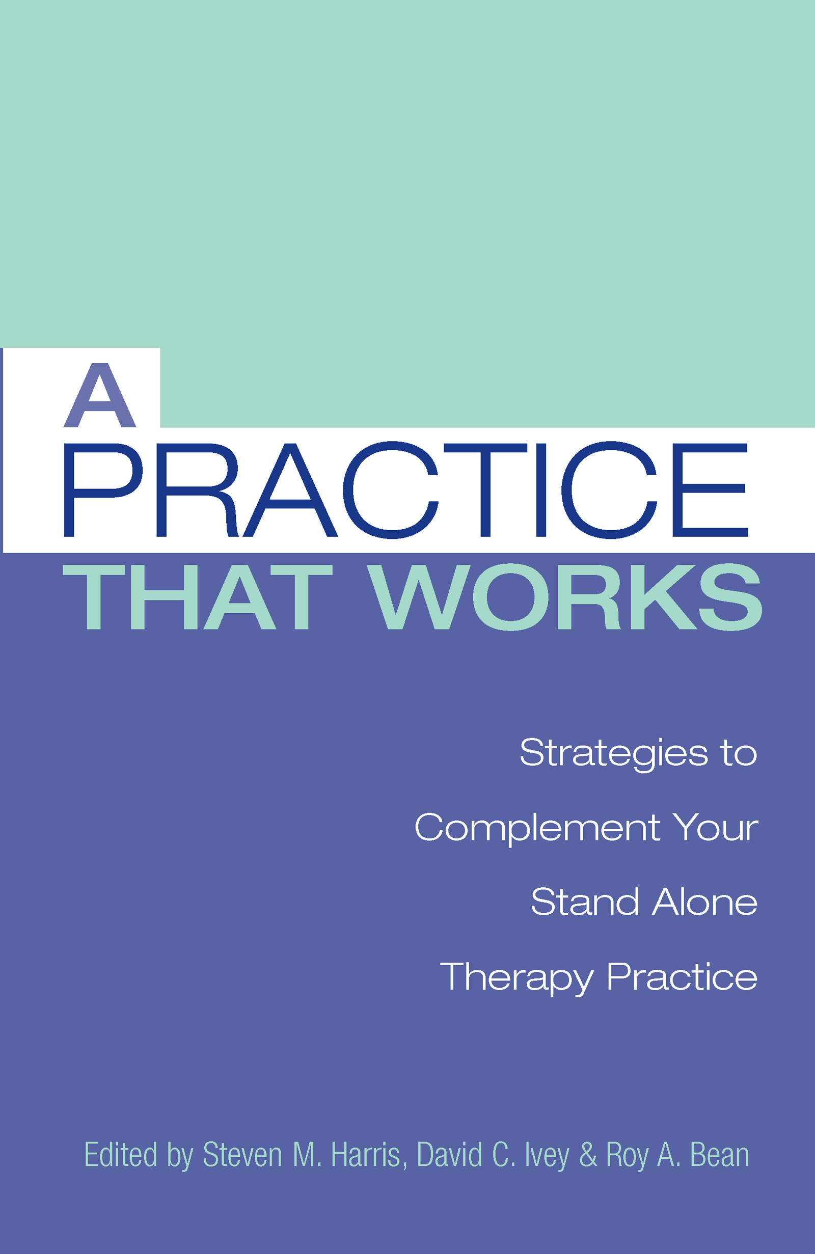 A Practice that Works: Strategies to Complement Your Stand Alone Therapy Practice (Hardback) book cover
