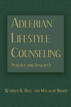 Adlerian Lifestyle Counseling: Practice and Research (Hardback) book cover