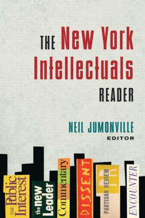 The New York Intellectuals Reader: 1st Edition (Paperback) book cover