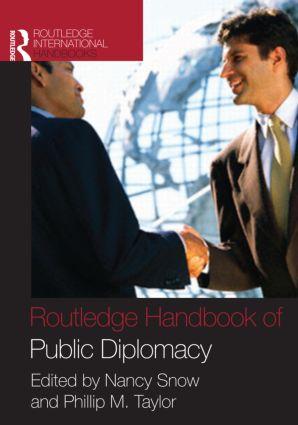 Routledge Handbook of Public Diplomacy (Hardback) book cover